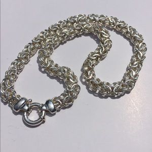 Jewelry - Byzantine Necklace-Sterling Silver